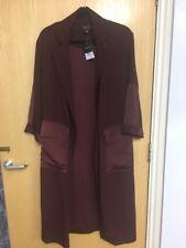 Topshop London Length duster coat Size 6