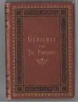 Fontane, Theodor: Gedichte 1875 Erstausgabe