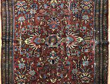 Tremendous Tribal - 1920s Antique Oriental Rug - Nomadic Carpet - 4 x 6.3 ft.