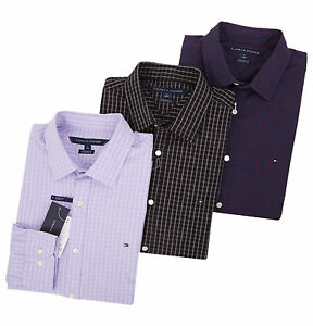 Tommy Hilfiger Men's Long Sleeve Button-Down Casual Shirt - $0 Free Ship