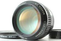 [TOP MINT w/ F/R Caps] Minolta MC Rokkor 85mm f/1.7 Portrait MF Lens From JAPAN