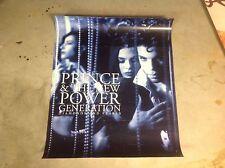 OOP! Album CD PRINCE Promo Poster Diamonds & Pearls purple rain 1999 music