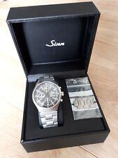 Cronografo senso modello 157 st12 in acciaio inox fliegerchronograph Lemania 5100