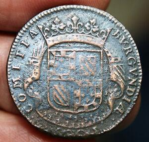 Jeton Etats de Bourgogne - 1682 - cuivre