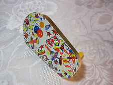 1950's 60's Vintage Party Noise Maker New Years with Clowns Usa
