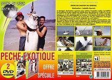 Lot 2 DVD Pêche en Lieux Mythiques Pêche Exotique en Mer