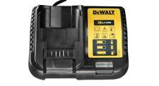 Chargeur DEWALT 230V pour batteries US XR li-ion 20V MAX et 12 MAX de 4Ah et 5Ah
