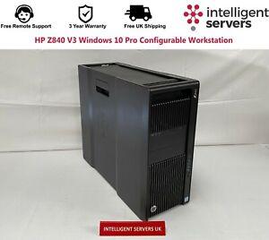 HP Z840 V3 Windows 10 Pro Configurable Workstation