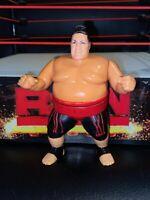 YOKOZUNA HASBRO WRESTLING FIGURE WWF WWE SERIES 8 1991 RARE