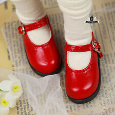 MSD Shoes 1/4 BJD Shoes Dollfie DREAM Lolita student Red Shoes AOD DOD Dollmore