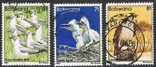 Botswana 1982. Birds. Part set. 5t, 7t & 8t. Used.
