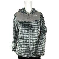 The North Face Oso Hoodie Fuzzy Fleece Zip Up Sweater Jacket Coat Winter Girls S