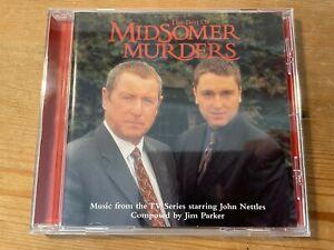 THE BEST OF MIDSOMER MURDERS (Jim Parker) OOP 2002 TV Score Soundtrack CD EX