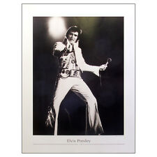 Elvis Presley - On Stage Fine Art Large Print