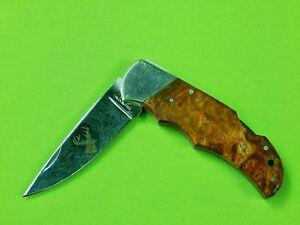 US Japan Made Limited Edition Browning Model 125 Engraved Folding Pocket Knife