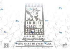 2003 Topps Tribute Baseball Perennial All Star Edition Sealed Hobby Box