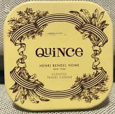 Henri Bendel 4oz. *QUINCE* 1 Wick Travel Tin Candle