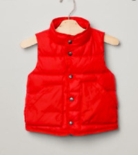 GAP BABY BOY Quilted fleece-lined vest NWT 3T NNN