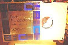 "STOWKOWSKI ""BACH TRANSCRIPTIONS / LONDON PHASE 4 STEREO SPC 21096 PROMO COPY LP"