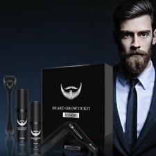 Beard Growth Hair Oil Men Mustache Serum Fast Facial Growing Grooming Natural