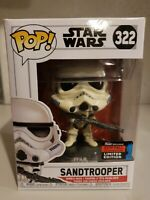 Funko Pop Star Wars #322 Sandtrooper NYCC 2019 Fall Convention Shared Target