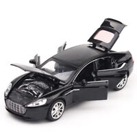 1:32 6 Doors Open Toy Car Aston Martin Metal Alloy Car Model Toys For Children