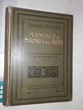 MANUALE DI STORIA DELL ARTE Rinasciemento Secoli XVII e XVIII Springer Grafiche