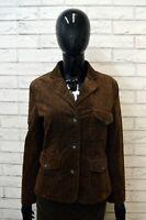 Giacca MARLBORO CLASSICS Donna Taglia L Giubbino Jacket Woman Cotone Marrone