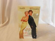 How to Lose a Guy in 10 Days (VHS, 2003) Matthew McConaughey, Kate Hudson
