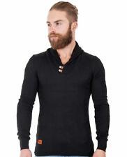 Herren-Pullover mit Rollkragen aus Baumwolle