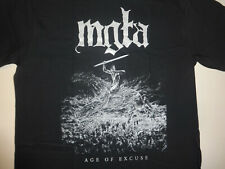 Mgla New Shirt Official Merchandise Black Metal Urfaust Watain Batushka XXL