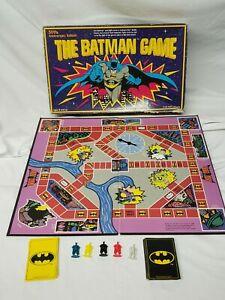 The Batman board Game 50th Anniversary Edition Board Game 1989 -INCOMPLETE PARTS