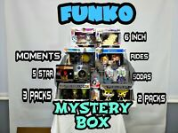 funko mystery box (LOT) Pops! Figures, Sodas, 5- Star, 10 Inch, Deluxe, And More