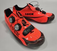 Luck Iris Road Cycling shoes Made in Spain carbon fibre sole ventilation
