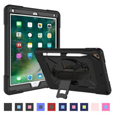 For Apple iPad Pro 9.7 2018/2017 Air 2 Protective Hard Stand Silicone Case Cover