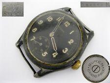 Vintage military watch Buren WWII German DH handaufzug