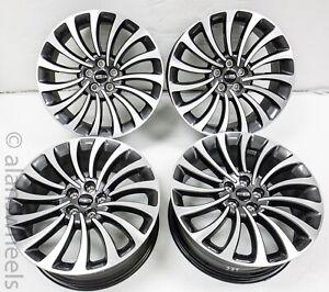 "4 2021 Lincoln Aviator 20"" Grey Machined Factory OEM Wheels Rims 96667 #2720"