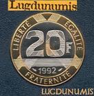 BE - 20 Francs Mont Saint Michel 1992 FDC 4 938 Ex Provenant du coffret BE