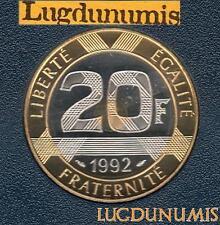 BE 1992 20 Francs Mont Saint Michel 1992 BE FDC 4 938 Ex Provenant du coffret BE