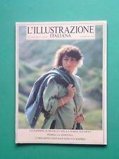 L'ILLUSTRAZIONE ITALIANA Novembre 1986 Nannini Lauren Hutton John Lennon Sherman