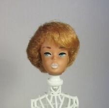 TLC Vintage Bubblecut Barbie Head Blonde Green Ear Unusual Part