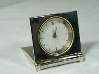 Wedgwood Travel Alarm, folding for easy packing superb condition !!
