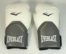 Everlast Pro Style Elite 12oz Evershield Training Boxing Gloves White / Gray