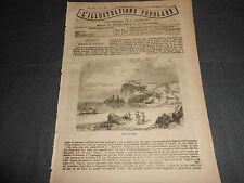 1871 SIRTI DI SCILLA E CARIDDI FIORAIO IN GIAPPONE MONUMENTO x POLONIA SVIZZERA