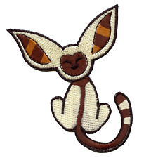 Flying Lemur Embroidered Iron On Patch