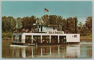 Bellevue Nebraska~Belle Or Brownville On Missouri River~Vintage Postcard
