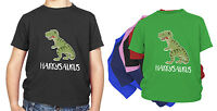 PERSONALISED KIDS Dinosaur T-SHIRT T Rex Boys, Girls  ANY NAME BIRTHDAY GIFT