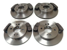 FRONT & REAR BRAKE DISCS & PADS (CHECK LISTING) FOR KIA PICANTO 1.0 1.1 ,1.1D