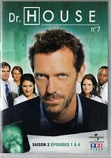 Dr HOUSE - Intégrale kiosque TF1 Video - Saison 2 - dvd 7 - Episodes 1 à 4