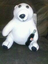 vintage coke bear plush 1993 new with tags nwt play by play toys cool